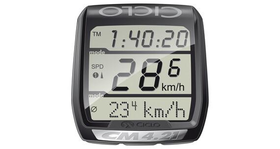 Ciclosport CM 4.21 fietscomputer met hartritmemeter zwart